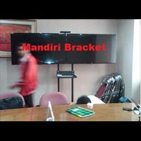 Bracket Tv Standing Dua Tv Lcd Led