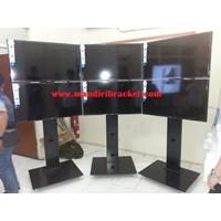 Brackets tv stand 20 cm width pillars strong burly & CHEAP