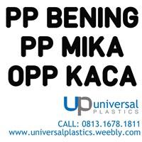 Plastik PP Bening - PP Mika - OPP Kaca