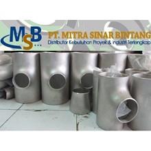 Reduser Tee Stainless Steel SUS316L