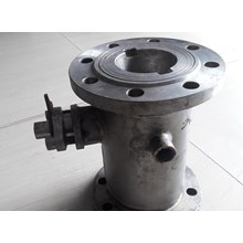Jacket Ball Valve Stainless Steel Sus 304