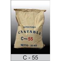 Castable C 55  ( Incenerator pemusnah limbah )