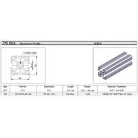 Jual Aluminium Profile 3030 Merk Dbasix Panjang nya 5800mm