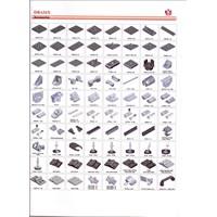 Jual Aksesoris aluminium profile