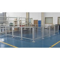 Fencing Room Aluminium Profile 4040 R4 L