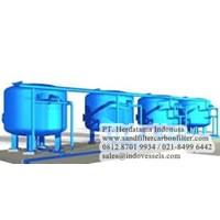 Sell Sand Filter dan Carbon Filter Supplier sandfiltercarbonfilter.com Tangki Harga Supplier 0812 8701 9934 sales@indovessels.com