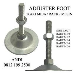 Adjuster Foot Foot Foot Foot Rack Table Machine Size M10