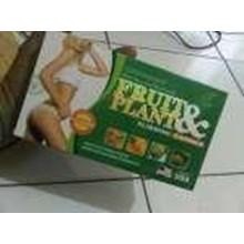 Obat Pelangsing Badan Alami Aman Cepat Pelangsing Fruit & Plant Slimming Capsul Herbal Natural Original