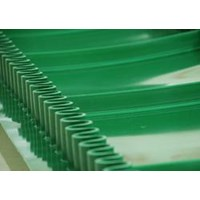 PVC belt slide wall