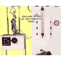 Triaxial Test Set Digital Reading Pore Pressure Bandung