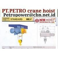 Jual PT PETRO POWER CRANE HOIST NIPPON NH