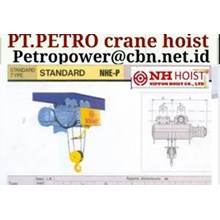 PT PETRO POWER CRANE HOIST NIPPON NH
