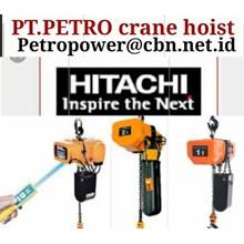CRANE HOIST HITACHI PT PETRO CRANE HOIST HITACHI