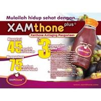 Jual jamu dan obat alami jus manggis Xamthone paket 3 dus BONUS 4 BOTOL