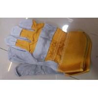 Jual Sarung Tangan Kombinasi kuning