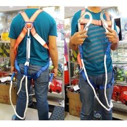 Full Body Harness Absorber lanyard kait ganda