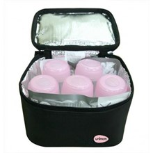 Cooler Bag 5 bottle + 2 ice pack