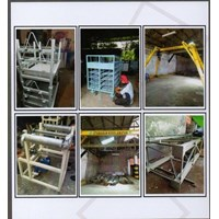 HOISTS custome 2-20 ton beserta dengan hoist dan rangka