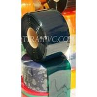 PVC Strip Curtain Opaque Black jakarta ( www.tira