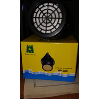 Jual Masker Pernapasan Blue Eagle NP 305 + Catridge Rc 202 Masker Kimia