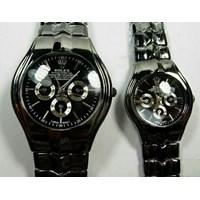 Jual Jam Tangan Rolex Couple Black