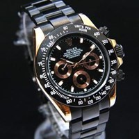 Jual Jam Tangan Rolex Black Otomatic