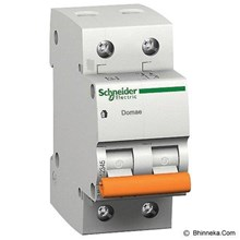 MCB Domae 2 kutub Schneider (2 ampere sampai 63 ampere)