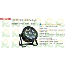 Lampu par 9 x 10w waterproof