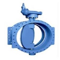 Jual  DOUBLE FLANGE ECCENTRIC BUTTERFLY VALVE