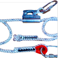 Work Positioning Lanyard A Stabil EAL 10107