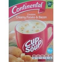 Jual Continental Cas Croutons Creamy Potato & Bacon 50Gr
