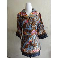 Jual Batik Motif Pisangan - Blouse W5143
