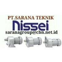 Nissei Gear Motor Gtr Pt Sarana Gearbox Nissei Gear Motor