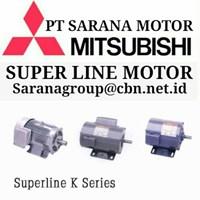 Jual MITSUBISHI SUPERLINE ELECTRIC MOTOR PT SARANA MOTOR  AC MOTOR
