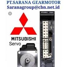 MITSUBISHI SERVO AC MOTOR PT SARANA GEAR MOTOR &  PLC INVERTER