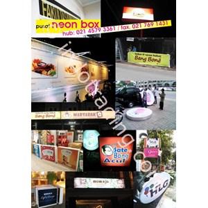 Neonbox (Signboard Toko) By Toko PUSAT NEONBOX