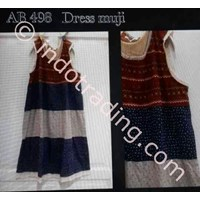 Dress Wanita Korea Ab 498