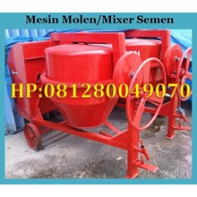 Mesin Mixer Mesin Pengaduk Semen Mesin Molen Beton Mesin Concrete Mixer Mesin Molen Semen Molen Beton Cor