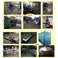 Jual Restraining Box Alat Perebah Sapi