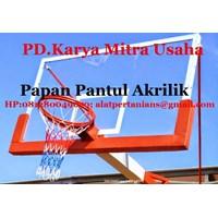 Jual Papan Pantul Akrilik Ring Basket Temurah