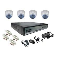 Paket CCTV Analog HD 1 3 Megapixel  4 Camera AHD Indoor