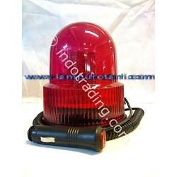 Lampu Rotari Led 4 Inchi Merah