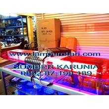 lampu rotator ambulan merah