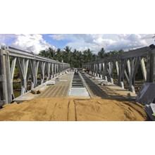 Jembatan Baja Panel Bailey tipe SR SSR DS DSR DDSR