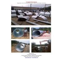 Jual Baja armco type Nestable flange dan multi plate pipe