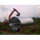 Buy Corrugated Steel Pipe Multi Plate Pipe Arches 4
