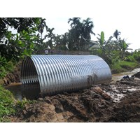 Corrugated Steel Pipe Multi Plate Pipe Arches 1