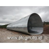 Distributor Corrugated Steel Pipe Multi Plate Pipe Arches 3DA