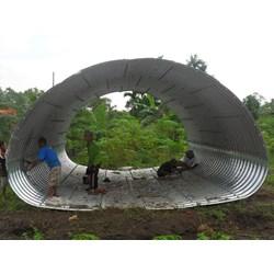 Corrugated Steel Armco Multi Plate Pipe Arches