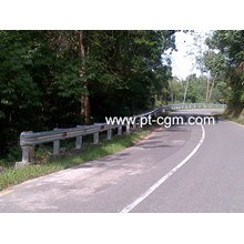 Baja Guardrail standar SNI